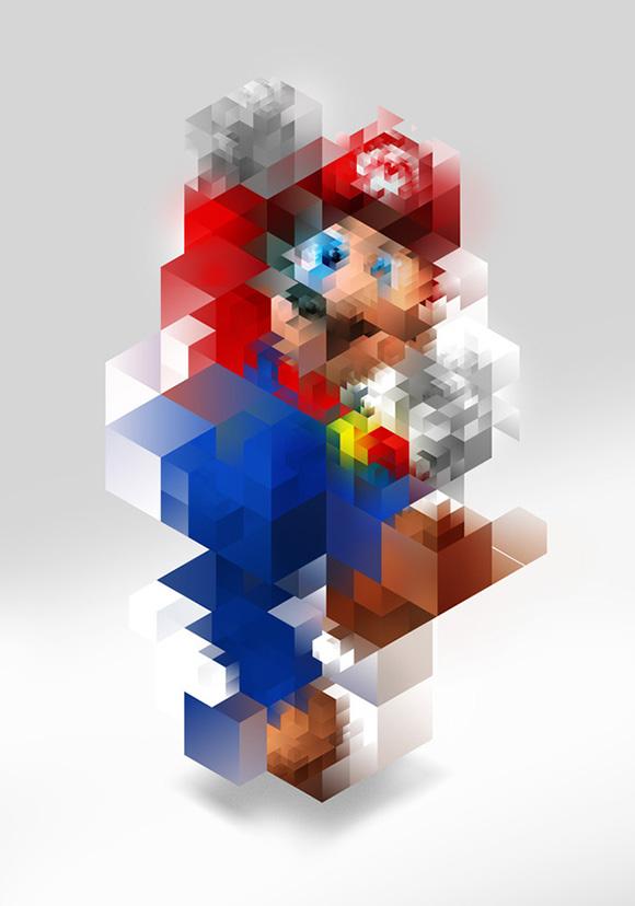 Super Mario by Nicola Felaco