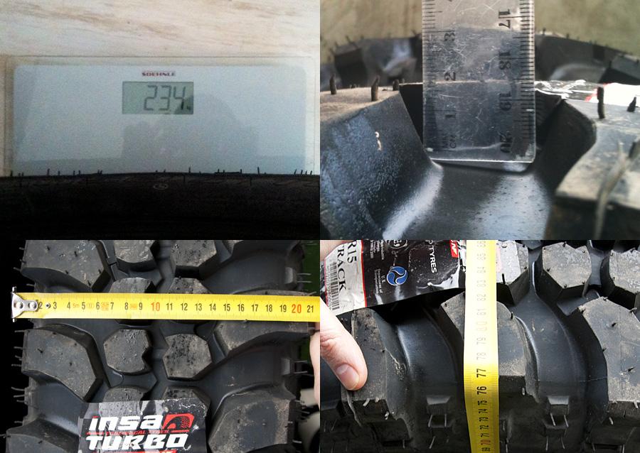 Insa Turbo Special Track dimensions 235 75 R15